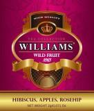 Williams - Wild Fruit черный пакетированный 50шт. в фольгированной упаковке
