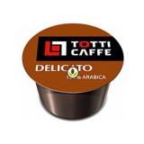 Кофе в капсулах Totti Caffe Delicato формата Lavazza Blue (Тотти Кафе Деликато), упаковка 100 капсул по 8 г