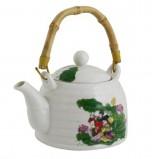 Чайник для чая Мелодия любви с бамбуковой ручкой, 600 мл